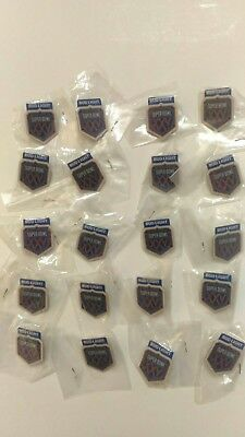 20 Super Bowl XXV Bud Light Vintage Pins NY Giants vs Bills NFL 1991