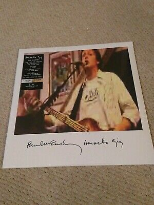 Paul Mccartney Amoeba Gig Clear & Amber Vinyl 2Lp Beatles Wings New