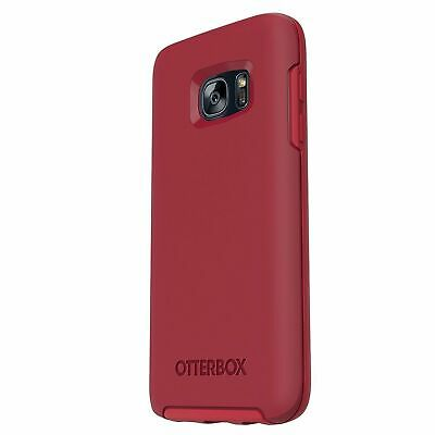 OtterBox Symmetry Samsung Galaxy S7 Shockproof Hard Shell Cover Case - Red