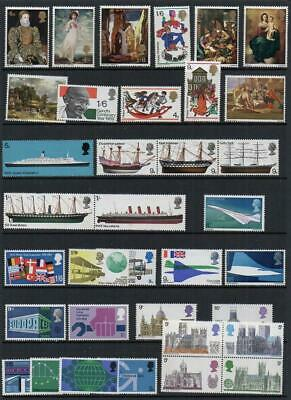Group of 35 Commemoratives Excellent Quality UNMOUNTED Mint  Many Sets as Shown