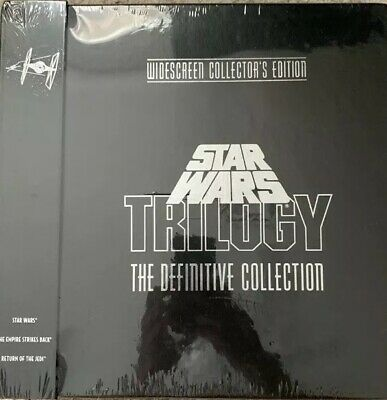 Star Wars Trilogy - The Definitive Collection Laserdisc -BRAND NEW SEALED - RARE