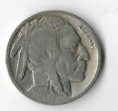 Rare Antique 1926 US Buffalo Indian Nickel Collection Great Depression Coin X35
