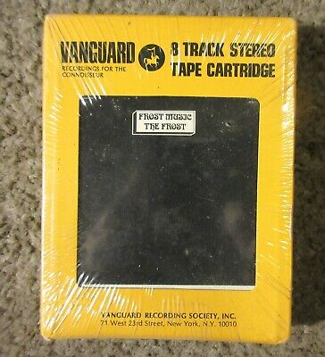 "The Frost ""Frost Music"" 1969 Vanguard 8Vm-6520 Psyche Still Sealed 8-Track Tape"