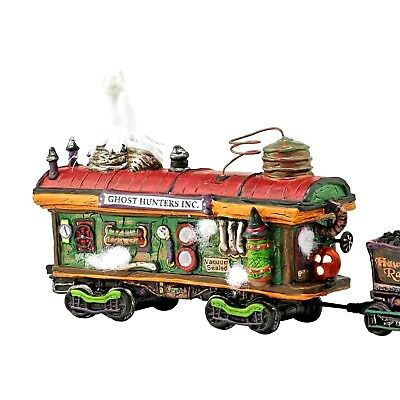 Haunted Rails Scary Ghost Hauler Dept 56 Snow Village Halloween 4054982 train A