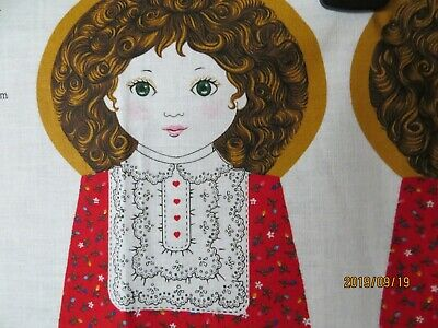 Little Red Riding Hood fabric panel.