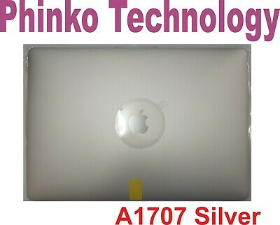 """Apple Macbook Pro 15"""" Retina A1707 2016 2017 Complete LCD Screen Assembly Silver"""