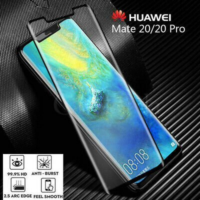 For Huawei P20/Mate P30 /Pro/Lite 5D Full Screen Protector Curved Tempered Glass