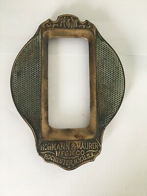 Antique Thermostat Wall Plate Hohkann & Maurer MFG & Co Rochester NY USA