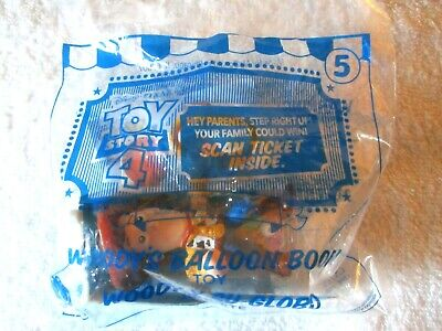 McDonalds Happy Meal Toy 2019 – Toy Story 4 – Woody's Balloon Boom– NIP
