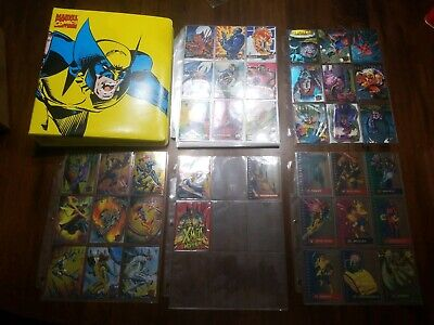 1995 Fleer Ultra X-Men Complete Set! Sinister Observations, Hunters, Animation