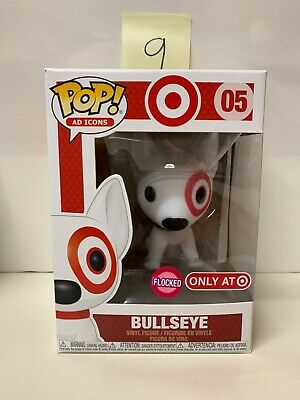 Funko Pop Ad Icons Target Exclusive Flocked Bullseye #05 - 9