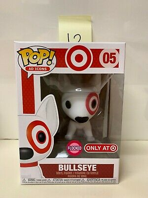 Funko Pop Ad Icons Target Exclusive Flocked Bullseye #05 - 12