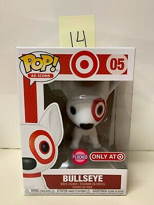 Funko Pop Ad Icons Target Exclusive Flocked Bullseye #05 - 14