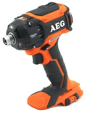 AEG Brushless 18V Oil Pulse Impact Driver Skin Only TRI-LED BSS18OP SKIN ONLY