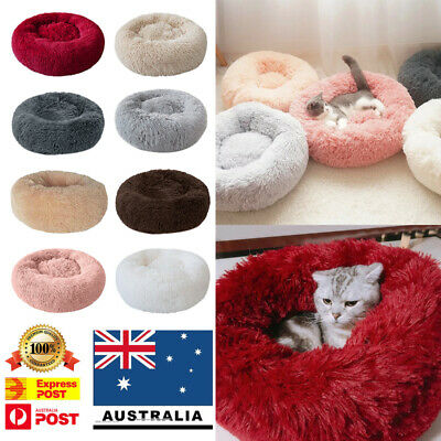 Round Breathable Cat Dog Bed Nest Soft Pet House Mat Kennel Warm Dog Sofa Mats