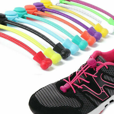 No Tie Shoe Laces Elastic Lock Lace System Lock Sports Shoelaces Runner Trainers