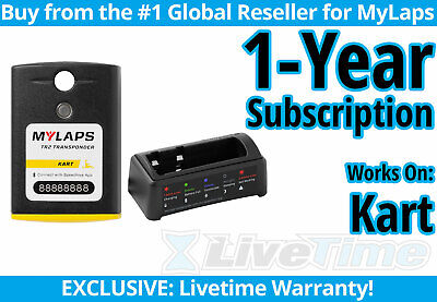 MyLaps TR2 Kart Rechargeable Transponder w/ 1-year Subscription