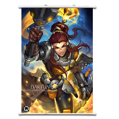 Game Overwatch OW Ashe Wall Scroll Poster free shipping(23.6/'/' 31.5/'/')