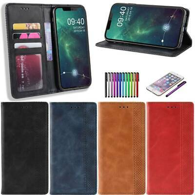 Leather Book Flip Phone Wallet Case Cover For iPhone 11 Pro Xs Max Xr X 8 7 Plus