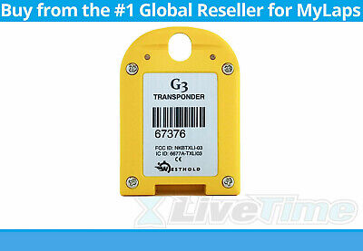 Westhold Rechargeable G3 Transponder (RACEceiver)