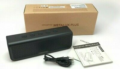 creative Metallix Plus Bluetooth Speaker - Black