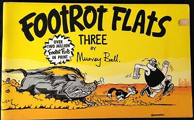 "VINTAGE - AUSTRALIANA COMIC ""FOOTROT FLATS"" THREE  C.1980's."