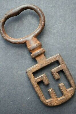 Georgian Night Latch Key old vintage antique odell lock keys victorian door rack