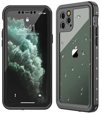 Full Body Heavy Protection iPhone 11 Pro Max Case Waterproof Shockproof Scratch