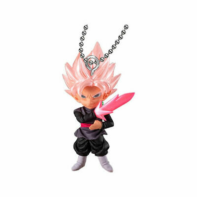 Dragon ball Super Broly UDM 38 Burst Key Chain Figure SS Rose Black Goku Gokou