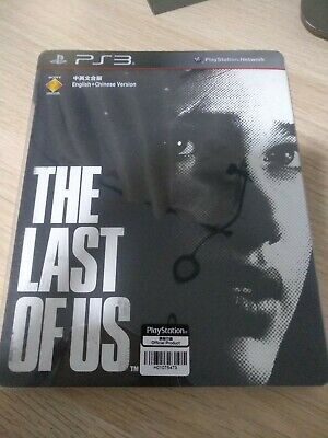 PS3 - The Last Of Us Steelbook Edition (R3/Asia/English/Used)