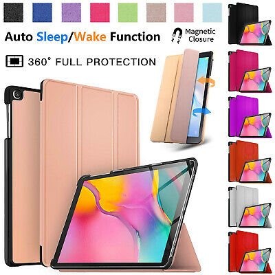New Samsung Galaxy Tab A 10.1 Inch 2019 Leather Smart Stand Case Cover SM-T510