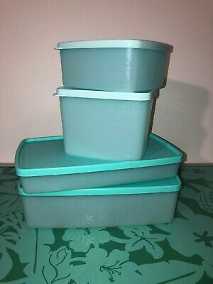 Tupperware  Freeze It PLUS- 4 PC Set! Free Shipping!