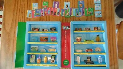 M & S food, little shop collectables, My mini Shop Complete in collection case