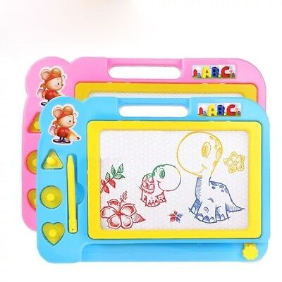 Magnetic Drawing Board Sketch Pad Doodle Toys Children Painting Craft Toys #HN
