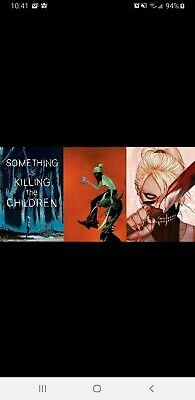 SOMETHING IS KILLING THE CHILDREN #1 COVER A+B+C Dell'Edera Lee Frison set  9/4