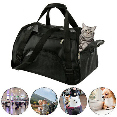 Chien Chat Lapin Animal Compagnie Sac Voyage Portable Carrier Tot Cage Transport