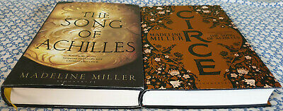 Madeline Miller: Song of Achilles & Circe SIGNED First editions 1/1 RARE