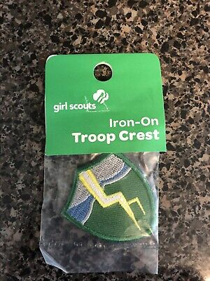 Girl Scouts Junior Patch~Troop Crest~Music Notes~NEW Unused