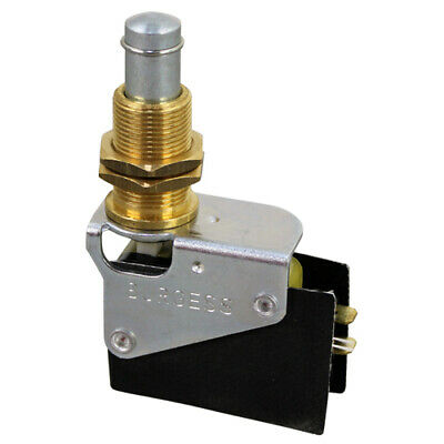 Henny Penn Momentary On//Off 3 Tab Push Button Switch #18227