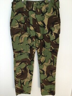 """1968 PATTERN DPM British Army 34"""" - 37"""" Combat Trousers Old 68 Camouflage Pants"""