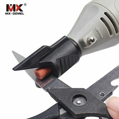 Saw Sharpening Attachment Sharpener Guide Drill Adapter For   Drill Rot