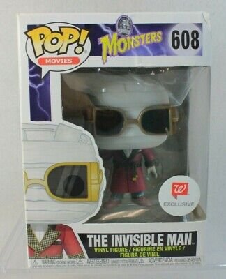 Funko Pop Movies INVISIBLE MAN Walgreens Exclusive Vinyl Figure 608 Monsters