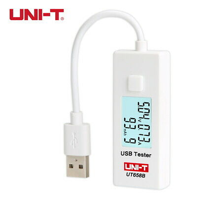 UNI-T UT658B USB Tester Phone Computer Backlight LCD Monitor Energy Current