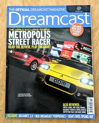 Issue 12 The Official Dreamcast  Magazine 2000 Metropolis Street Racer