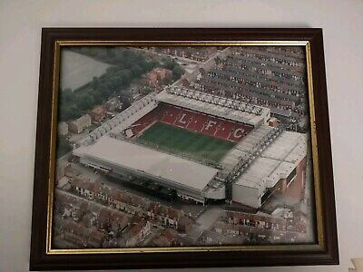 Anfield/Liverpool/F.C.(Photo/Picture/Framed/Birthday/Fan/Gift/Memento).🇬🇧🎁.
