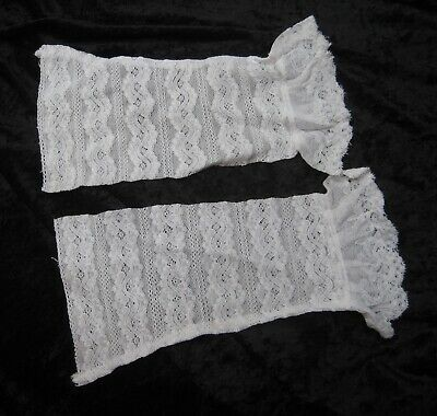 Vintage Victorian Lace Cuffs Cosplay Steampunk Costume