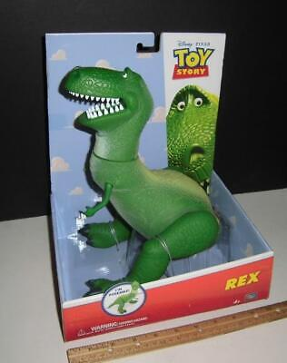 "Disney Pixar Toy Story - Rex 12"" Figure - Thinkway - Nicely Detailed - New"