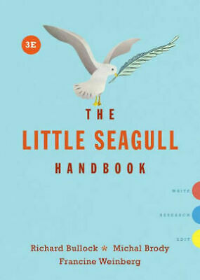 The Little Seagull Handbook 3rd edition (PDF) EB00K Fast delivery By Mail
