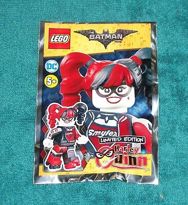 LEGO 211804 DC The Batman Movie HARLEY QUINN Limited Edition Foil Polybag 2018