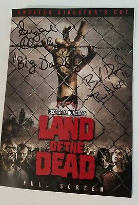 George A. Romero's Land of the Dead DVD autographed by Boyd Banks & Eugene Clark
